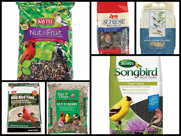 Birdseed Collage