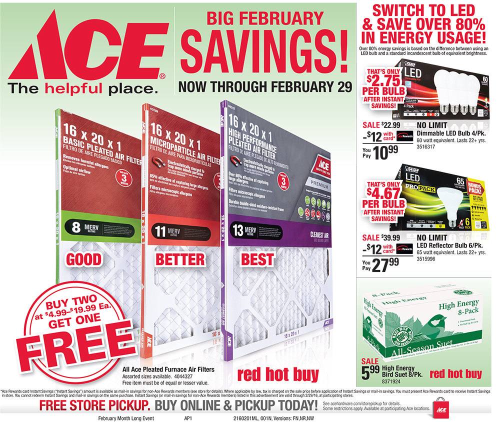 FEBRUARY MONTH LONG SALE
