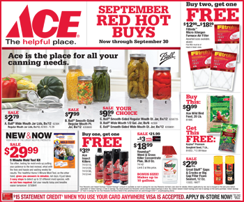 September 2017 Red Hot Buys Circular Featured