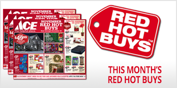 This Months Red Hot Buys