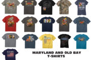 New Old Bay, Maryland and Crab T-shirts Have Arrived!!