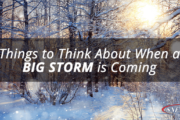 Things to Think About When a Big Storm is Coming Featured