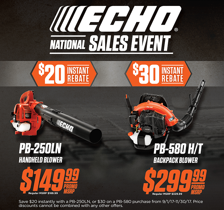 Echo Fall National Sales Event Featured