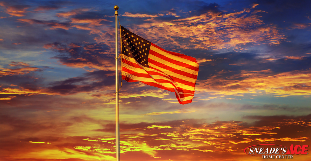American Flag Etiquette for Your Home