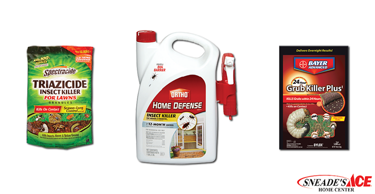 Keep the Pests Our of Your Lawn Products