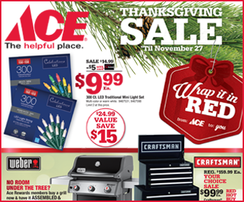 This Months Red Hot Buys Thanksgiving Sale