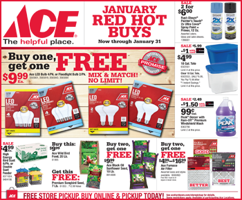 January 2018 Red Hot Buys Circular Featured