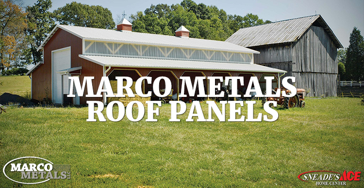 Marco Metal Roofing Panels Sneades Ace Home Centers