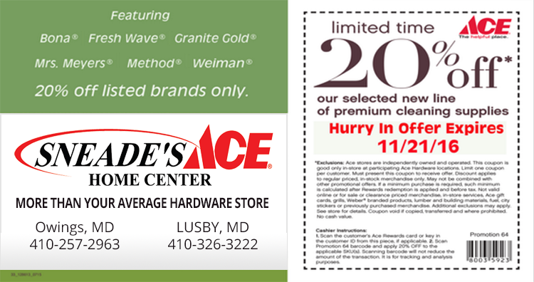 graphic about The Limited Printable Coupon titled top quality-companies-printable-coupon - Sneades Ace Residence Facilities