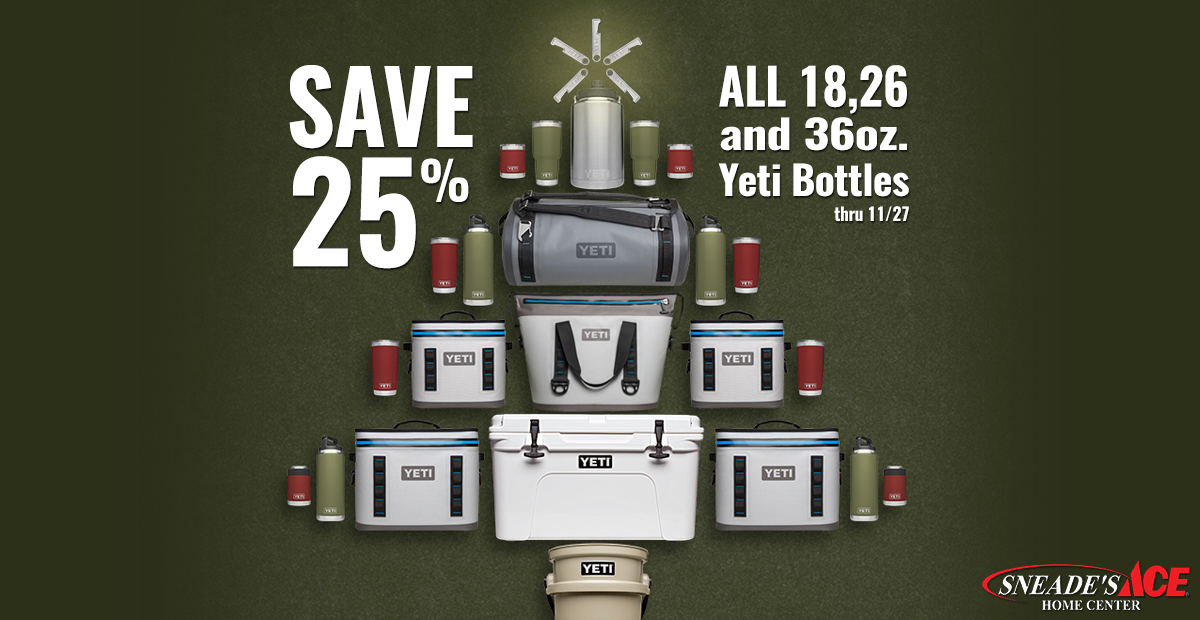 YETI Coolers - Sneade's Ace Home Centers