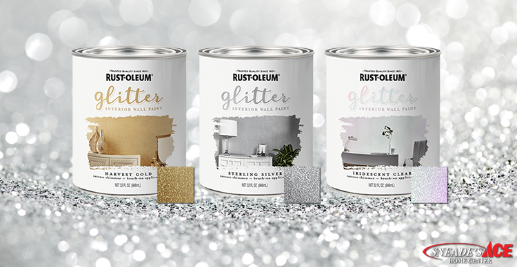 Glitter Paint Is The Newest Home Decor